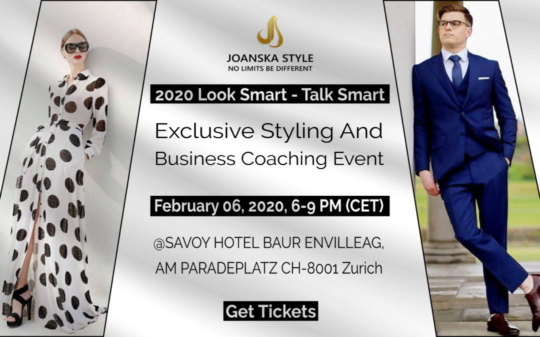 2020 – Look Smart Talk Smart Exclusive Styling and Business Coaching Event